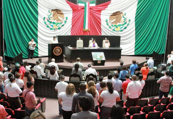 La mayoría de los Ayuntamientos de Q. Roo votó a favor de la derogación del artículo sexto transitorio del decreto 411 de la Constitución del Estado. (Carlos Horta/SIPSE)
