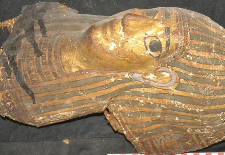 El Ministerio solo ha dado a conocer detalles preliminares, por lo que todavía se requiere otra excavación. (Foto: Ministry of antiquities, Egypt)