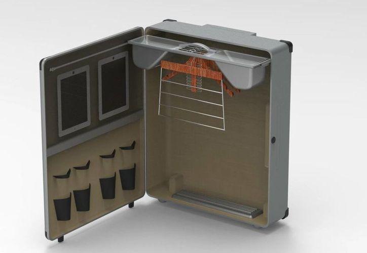 Su inventor Federico Nahuel Pelatt se dispone a vender su idea patentada, lo que podría hacerlo millonario. (onelinesuitcase.com)