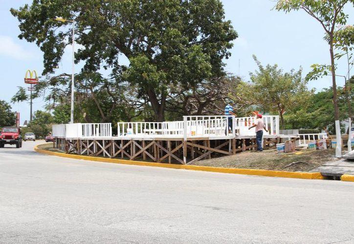 En el Monumento a la Historia se realizará una pequeña ceremonia cívica. (Tomás Álvarez/SIPSE)