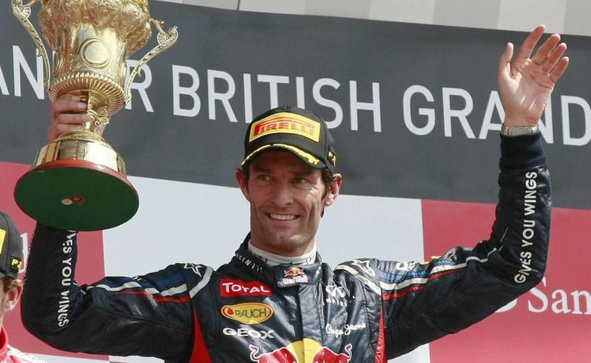 Webber ha ganado nueve carreras en Fórmula Uno. En la foto, durante su victoria en el circuito de Silverstone el 8 de julio de 2012. (Agencias)