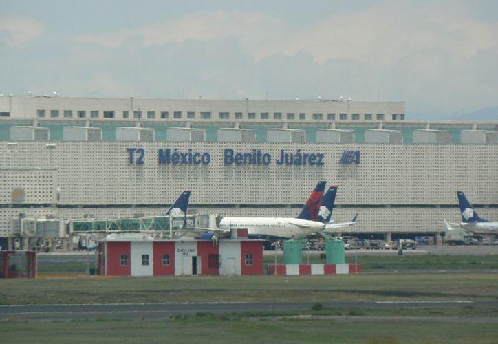 La terminal aeroportuaria ya opera con total normalidad. (Archivo/Notimex)