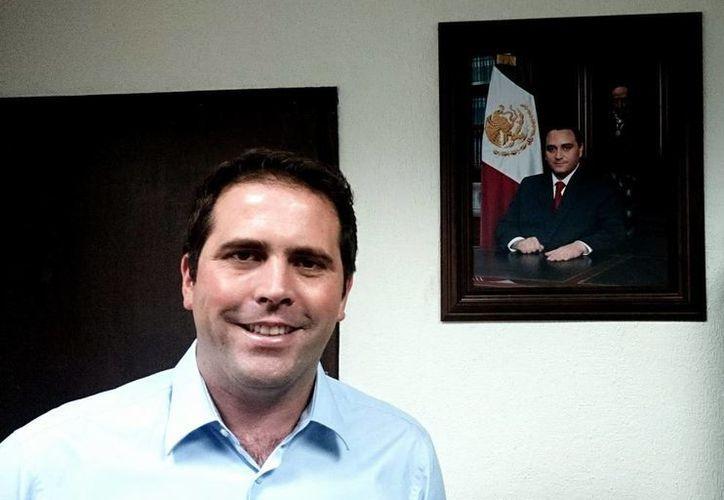 Secretario de Finanzas y Planeación, Juan Pablo Guillermo. (Redacción/SIPSE)