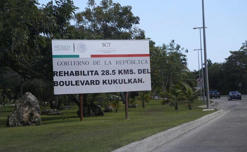Hasta el momento de la inversión de 80 millones de pesos, se han destinado 65 para la rehabilitación del bulevar. (Israel Leal/SIPSE)