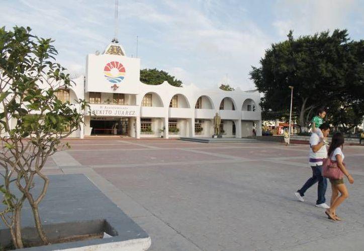 Previo al evento accederán al inmueble sólo invitados y personal del Ayuntamiento. (Archivo/SIPSE)