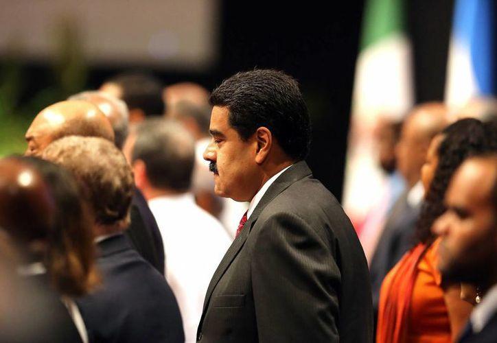 La oposición pide que el revocatorio contra Nicolás Maduro se realice antes de enero de 2017. (AP)