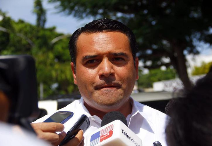 Barrera Concha propone que se establezcan bien los límites entre municipios. (SIPSE)