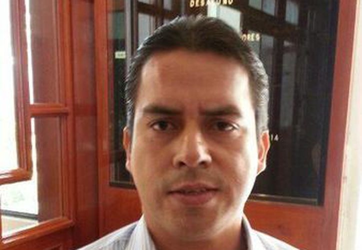 Maximino Muñoz Lara, presidente del Colegio de Contadores. (Benjamín Pat/SIPSE)
