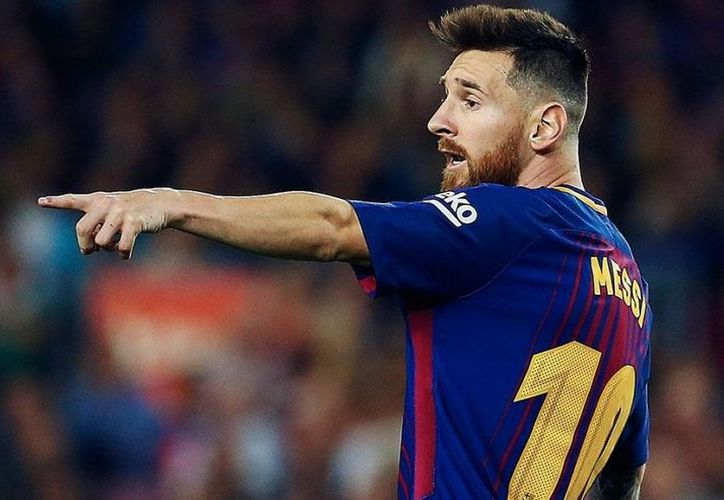 "La suerte acompañó a la ""pulga"" Messi este fin de semana. (Internet)"
