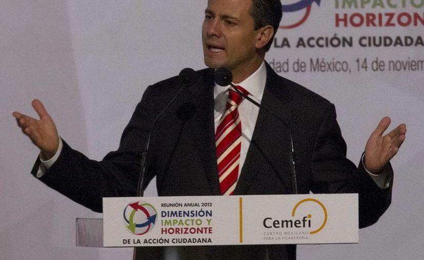 Peña Nieto proyecta cambiar la Secretaría de la Función Pública por la Comisión Anticorrupción. (Notimex)