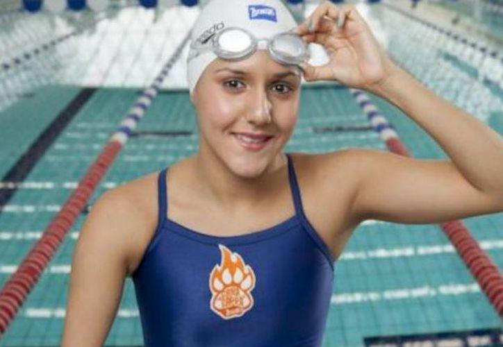 La mexicana Vianney Trejo aseguró que peleará por medallas en el próximo Campeonato Mundial de Para Natación. (Contexto/Internet).