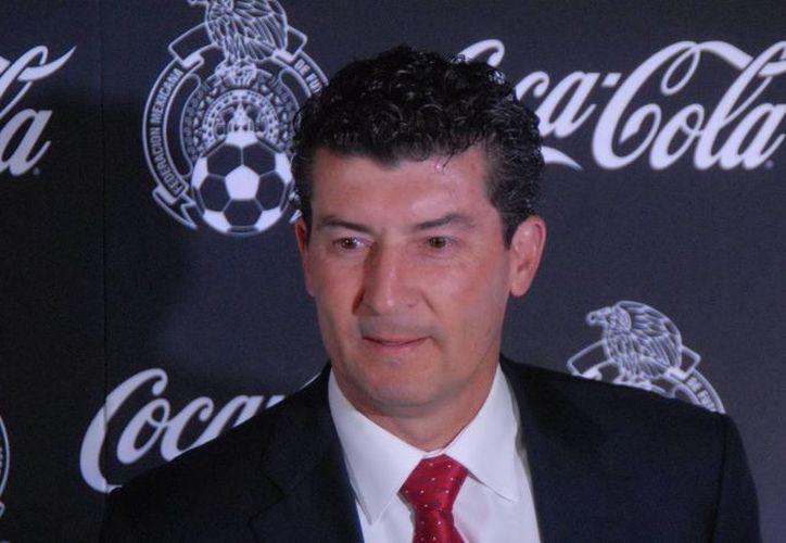 El DT nacional reconoció que hay un grave problema en el 'Tricolor', la falta de gol. (Archivo Notimex)