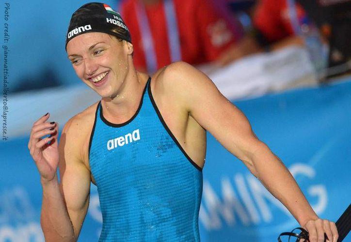 La húngara Katinka Hosszu fijó un récord mundial en el Mundial de Natación en piscina corta en Catar. (arenawaterinstinct.com/Foto de archivo)