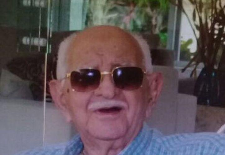 Enrique Baxir Saidén Isaac nació en abril de 1925. (Cortesía)