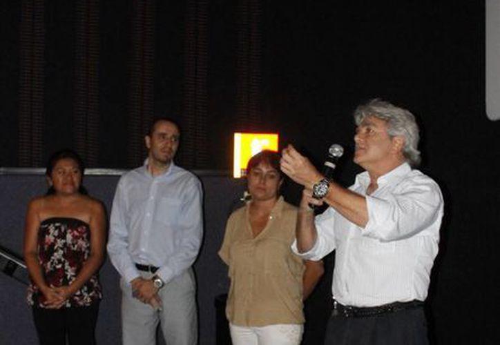 El cónsul honorario de Francia, Mario Ancona Teigell. (Milenio Novedades)