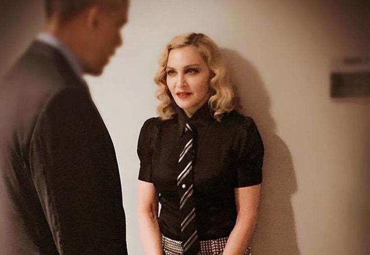 Madonna afirma que se quedó 'sin palabras' al conocer en persona al presidente BarackObama. (@madonna)