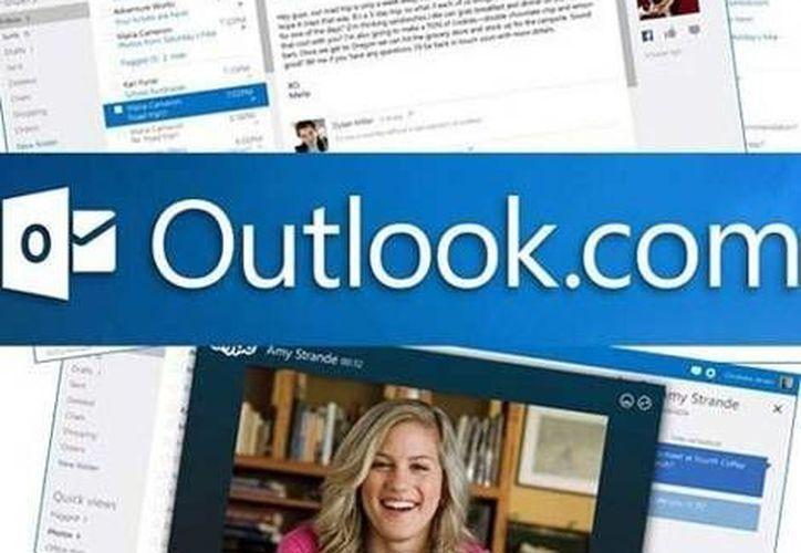 Hotmail y Outlook son servicios de correo electrónico gratuitos, que proporciona Microsoft. (Milenio)