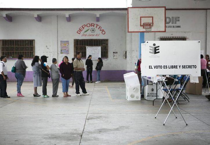 Más de 37 millones de mexicanos fueron llamados a votar este 5 de junio por los gobernadores de 12 estados. (EFE)