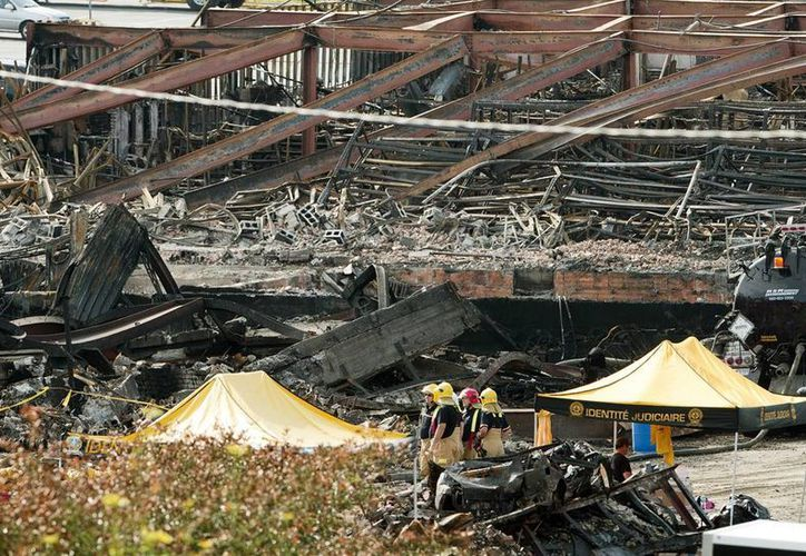 Infructuosas labores en la zona del accidente, considerado el peor de Canadá en los últimos 150 años. (Agencias)