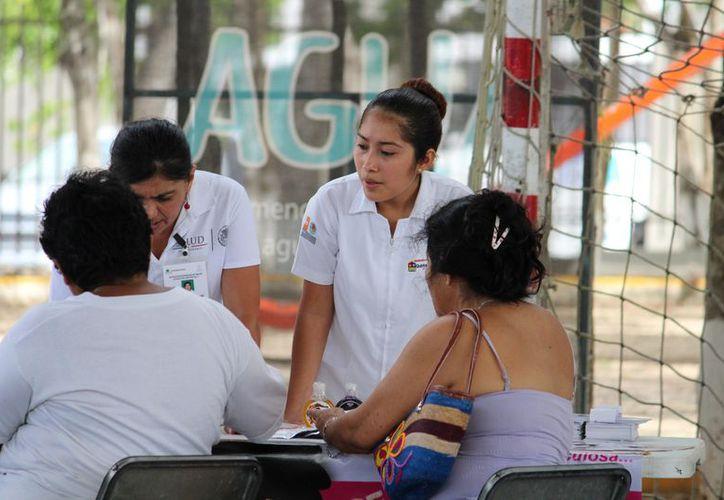 Se  planea convenio con el 'seguro popular' para implementar atención a los ciudadanos. (Foto: Adrián Barreto)