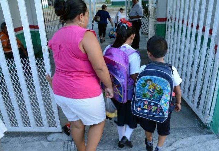 Las clases seguirán con normalidad en Cancún, tras balaceras. (Foto: Contexto/SIPSE)