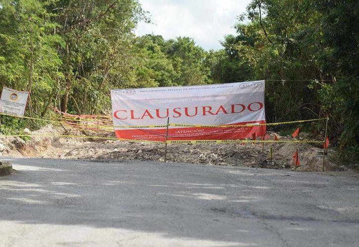 La Procuraduría clausuró de manera total temporal las actividades de desmonte. (Foto: Gustavo Villegas)