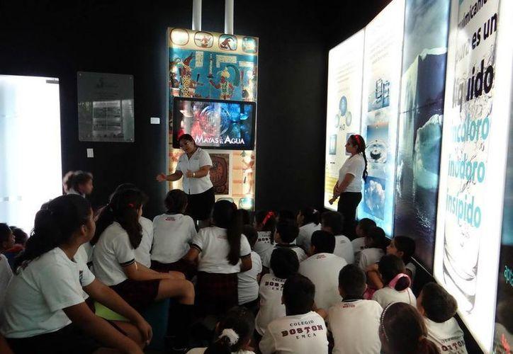 El Museo del Agua, que es un espacio didáctico que se implementó como parte del Programa de Cultura del Agua. (Redacción/SIPSE)