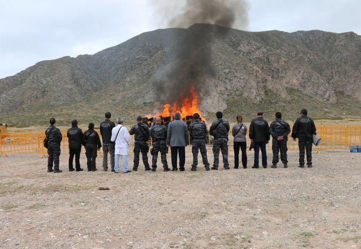 El evento se llevó a cabo en el Club de Caza y Tiro ubicado en la carretera a Mieleras. (Vanguardia)