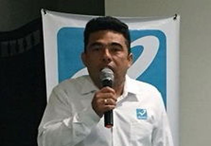 Raúl Ernesto Sosa Alonzo, presidente estatal de Nueva Alianza. (Foto: Milenio Novedades)