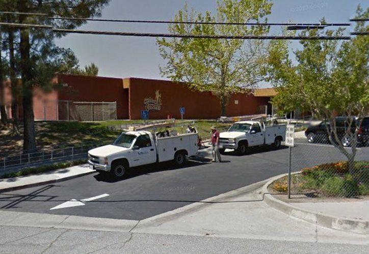 El tiroteo se produjo justo después de las 10:30 am en la escuela del parque del Norte, en 5378 N. H Street. (Google Maps)