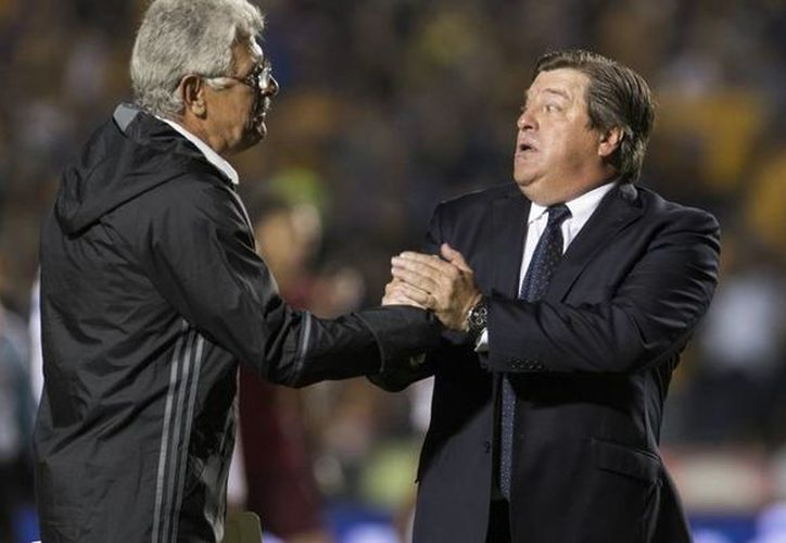 Miguel Herrera mencionó que Ricardo Ferretti 'se ha pasado de la raya y si sigue así le va a responder'. (Vanguardia MX)