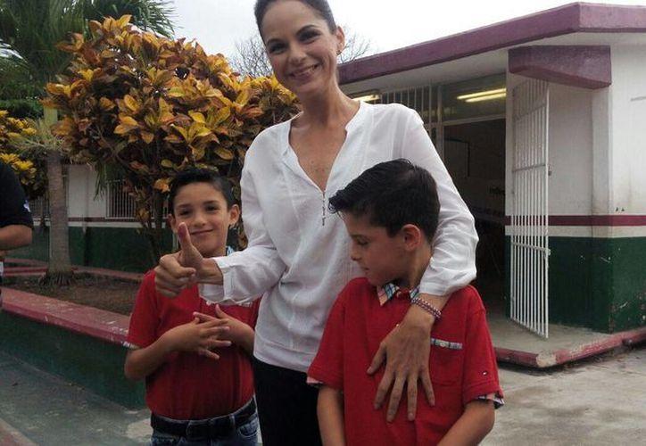 Georgina Ruiz Chávez, candidata a la presidencia municipal de la isla. (Irvin Canul/SIPSE)