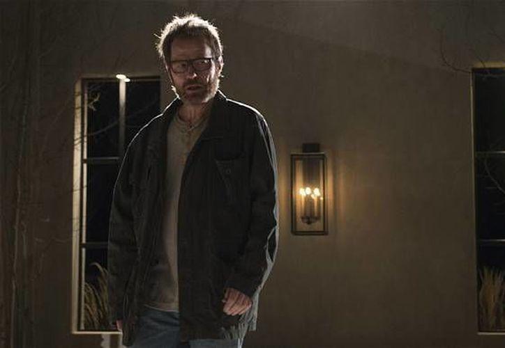 """Bryan Cranston, en el papel de Walter White, en una escena de la quinta temporada de la serie """"Breaking Bad"""". (Agencias)"""