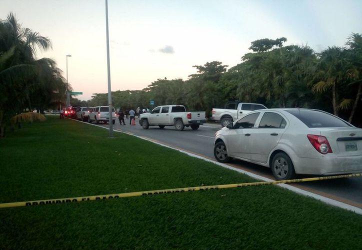 Encuentran a una persona sin vida en un área verde en la zona hotelera de Cancún. (Redacción/SIPSE)