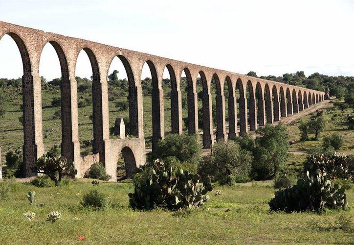 El Acueducto del Padre Tembleque recibió los mejores augurios para convertirse en Patrimonio de la Humanidad. Imagen de archivo. (medioambiente.hidalgo.gob.mx)