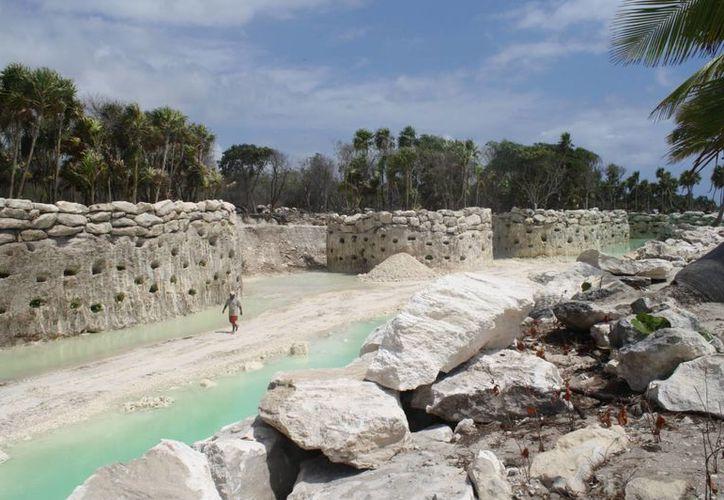 El estadio deportivo estaría en las inmediaciones del parque Xcaret. (Octavio Martínez/SIPSE)