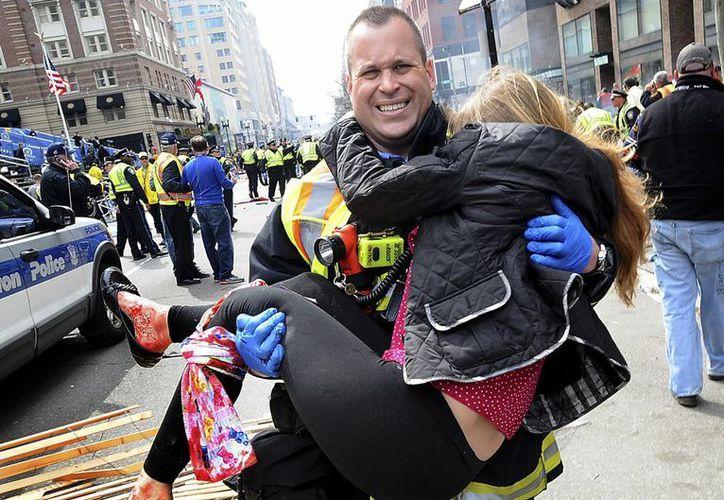 El presidente Obama agradeció a la gente de Boston por la solidaridad ante la tragedia. (Agencias)