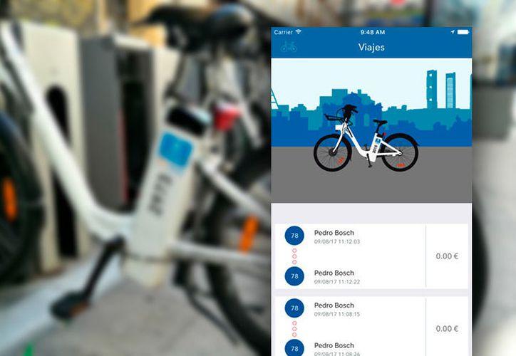 BiciMad ofrece información de los trayectos, pero contiene graves deficiencias de seguridad. (foto: Cadenaser)