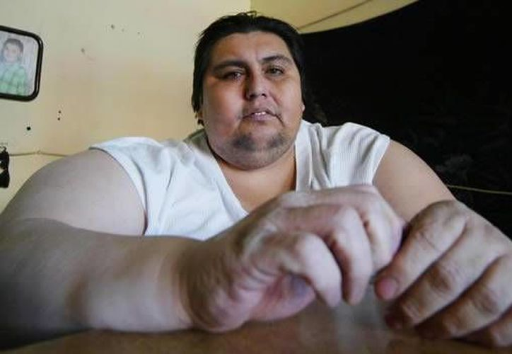 Manuel Uribe llegó a reducir más de 260 kilos de su peso. (Foto de archivo de Cuartoscuro)