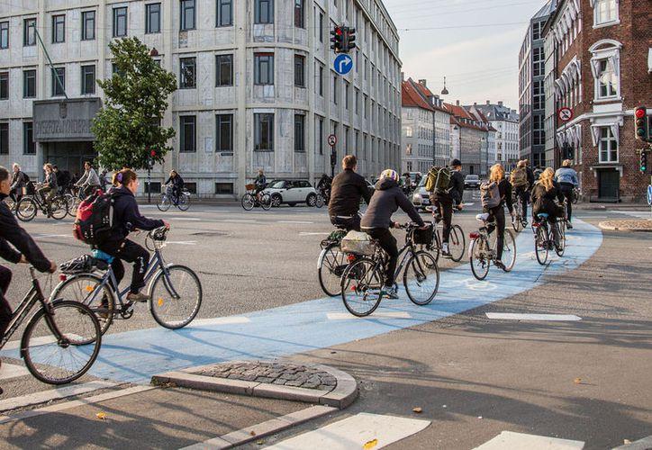 Holanda es conocida por su gran número de bicicletas. (Internet)