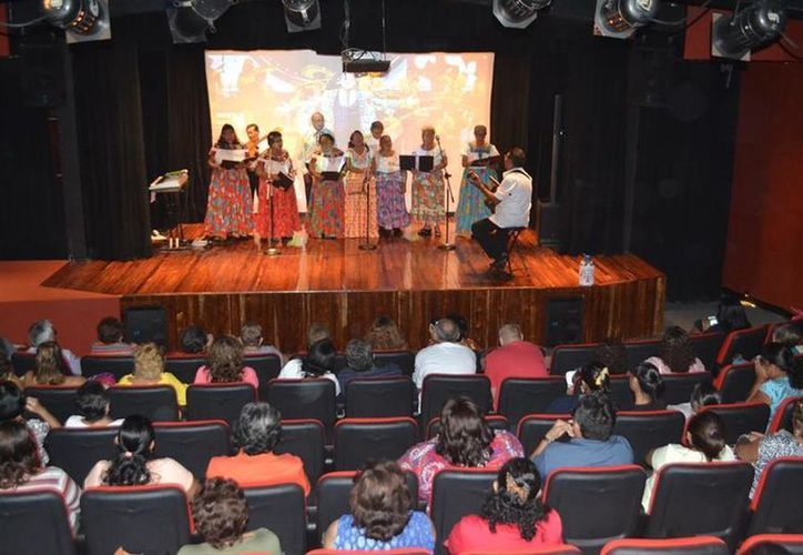 El festival ha tenido la presencia de cantantes de otros municipios de Quintana Roo. (Redacción/SIPSE).