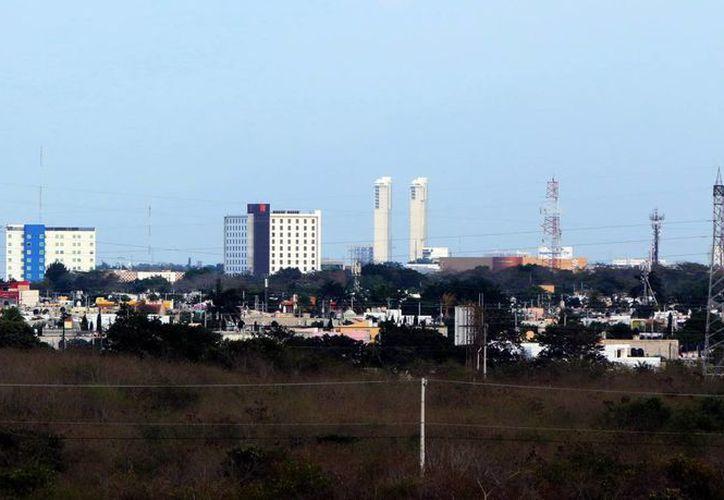 La zona norte de Mérida registra un mayor desarrollo. (José Acosta/SIPSE)
