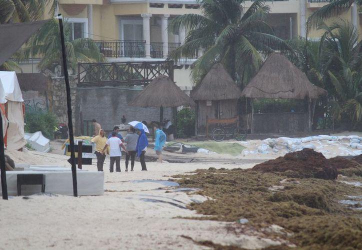Temporada de lluvias paraliza actividades turísticas. (Octavio Martínez)