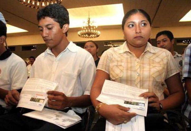 Las becas fueron solicitadas por 685 instituciones educativas del país. (Milenio Novedades/Foto de contexto)