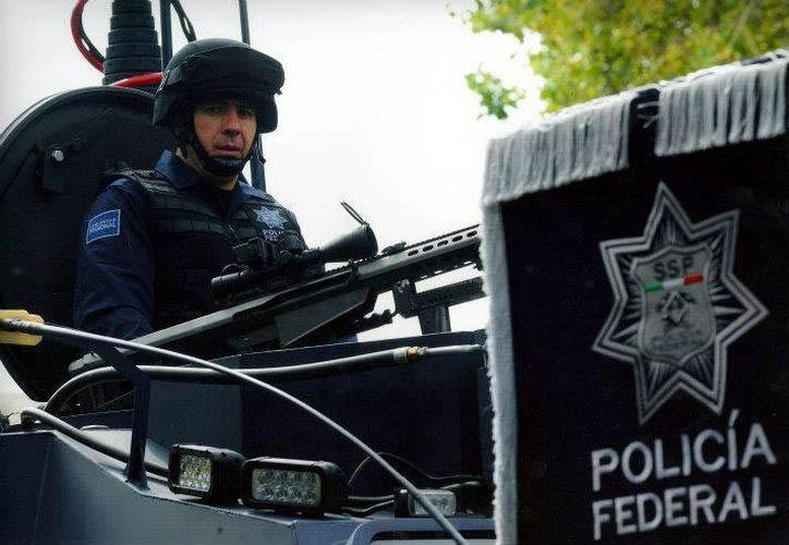 Se sabe que el mando obtuvo las armas durante su gestión en la SSP. (Reforma)