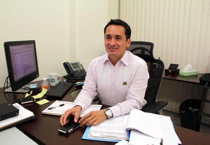 Marco Antonio Ponce Hernández señaló que cada vez más personas conocen el trabajo de la Prodecon. (Milenio Novedades)