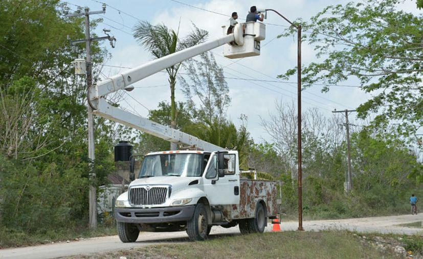 Con el recurso se atendería la electrificación rural y mejoramiento de vivienda, entre otros rubros. (Daniel Tejada/SIPSE)