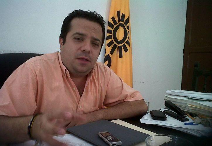 El expresidente estatal del PRD, David Barrera Zavala, encabeza a los candidatos para diputados locales por vía plurinominal. (Archivo/SIPSE)