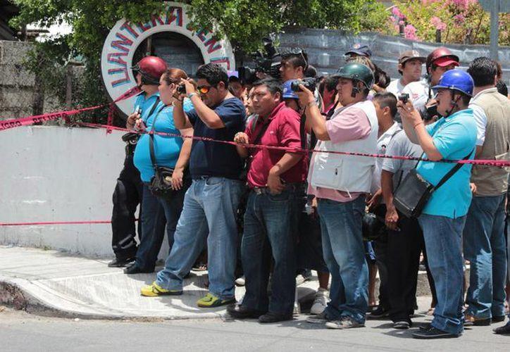 En el marco del premio local de periodismo Orión 2014, se llevará a cabo la exposición fotográfica de los reporteros de Cozumel. (Gustavo Villegas/SIPSE)