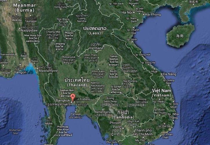 Entre las personas fallecidas en el choque en Tailandia, 13 eran estudiantes y dos profesores. (Google Maps)